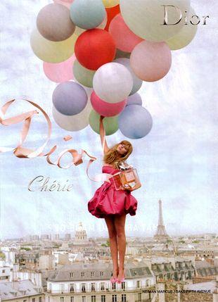 Marina Linchuk w reklamie Miss Dior Cherie