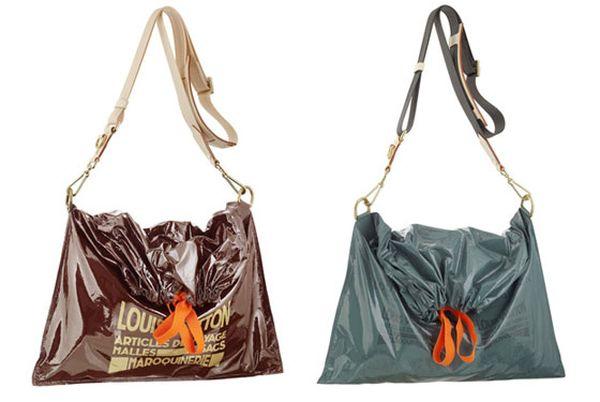 Torebki Louis Vuitton jak worki na śmieci?