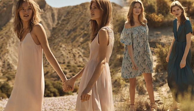 Styliści H&M kolejny raz pokazali, że doskonale znają najgorętsze trendy i trafiają w gusta swoich klientek. Najlepszym tego przykładem jest nowy katalog, który styliści przygotowali na najbliższe tygodnie. ZOBACZ TEŻ: H&M Miami Blues - Wakacyjna moda w wyjątkowo kobiecym wydaniu  Letni Wieczór to mieszanka niezwykle kobiecych fasonów, lekkich materiałów i wieczorowego, letniego stylu. Królują tu przede wszystkim sukienki o kilku różnych fasonach. Jeśli jeszcze nie trafiłyście w tym sezonie na idealny model dla siebie, macie spore szanse nadrobić zaległości.  Jakie modele znajdziecie między propozycjami szwedzkiej sieciówki? Nie brak tu ani lekki, niezwykle kobiecych kreacji maksi, oversize'owych mini o dziewczęcych krojach, a także modnych, casualowych sukienek idealnych na co dzień. Styliści nie pominęli w swoje ofercie ani wieczorowego stylu, ani tak modnych nadal bieliźnianych akcentów. ZOBACZ TEŻ: Aneta Kręglicka i Kylie Jenner w takiej samej sukience! Zobaczcie!