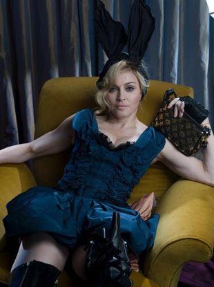 Madonna przed retuszem w kampanii reklamowej