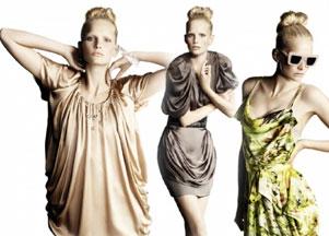 Wiosenny lookbook H&M 2010