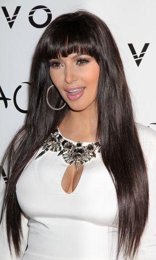 Sylwestrowa kreacja Kim Kardashian