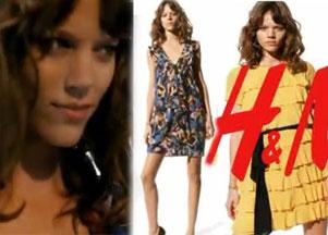 Freja Beha Erichsen w promocyjnych spotach H&M (VIDEO)