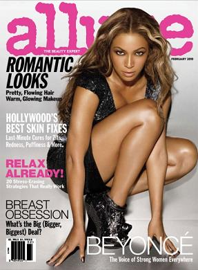 Beyonce w magazynie Allure