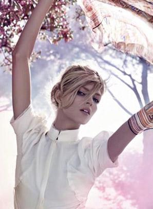 Anja Rubik dla Fendi - są już wszystkie zdjęcia!