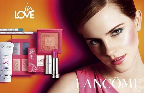Gwiazdy w kampaniach marki Lancome
