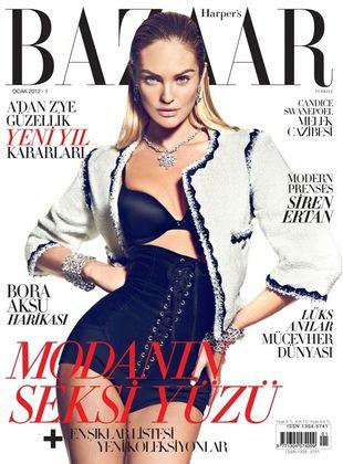 Candice Swanepoel w Harper's Bazaar Turkey