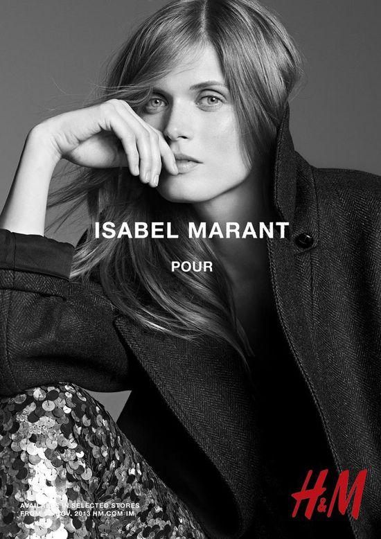 Modelki w kampani Marant dla H&M