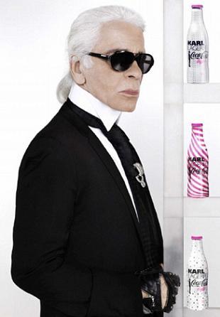 Karl Lagerfeld po raz drugi dla Coca-Coli