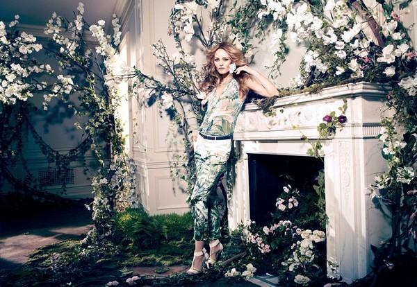 Vanessa Paradis w kampanii H&M Conscious 2013