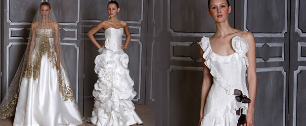 Carolina Herrera - suknie ślubne 2009