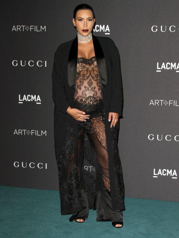 Wow! Tak Kim Kardashian wygląda miesiąc po porodzie!
