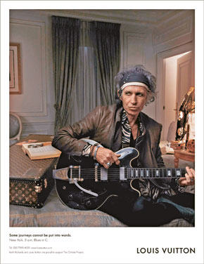 Keith Richards został modelem