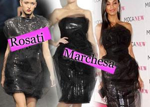 Rosati i Marchesa - tiul i połysk