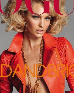 Candice Swanepoel na okładce włoskiego Vogue (FOTO)