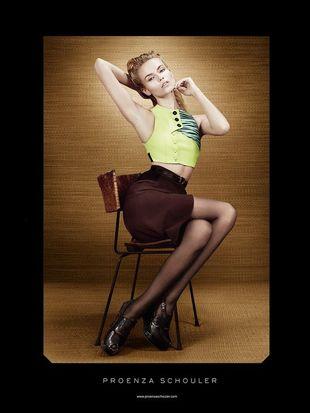 Natasha Poly w kampanii Proenza Schouler (FOTO)