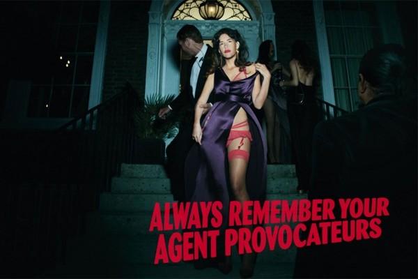 Paz de la Huerta dla Agent Provocateur