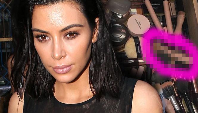 To nie miało tak być... Kim Kardashian przypadkiem pokazała nowość KKW Beauty