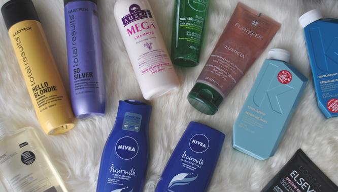 Moje ulubione kosmetyki do pielęgnacji włosów - szampony i odżywki