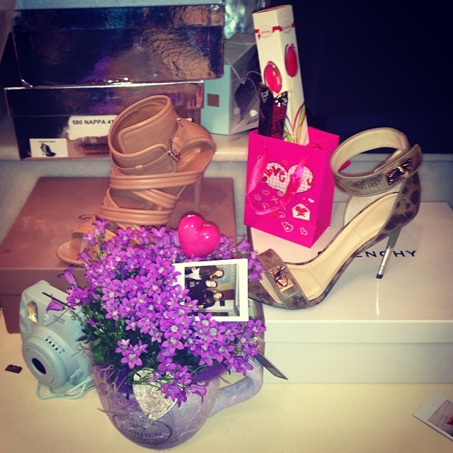 Wiktoria Grycan dostała na Walentynki… buty (FOTO)