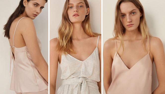 Oysho Soft mind - Romantyczna, kobieca kolekcja piżam na lato 2017