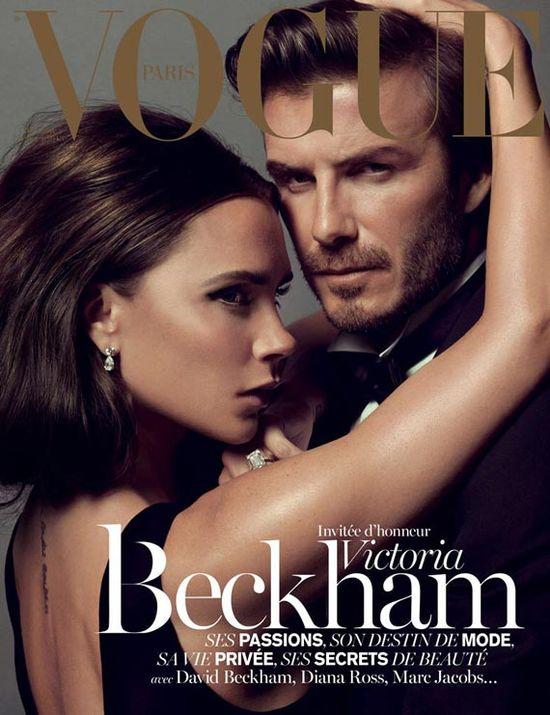 Victoria Beckham na okładkach Vogue'a