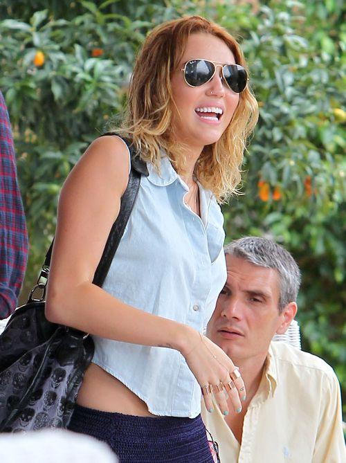 Fryzury Miley Cyrus