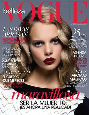 Marloes Horst w Vogue Maxico