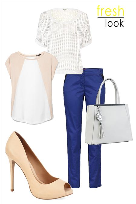 Wiosenne zestawy:  fresh look