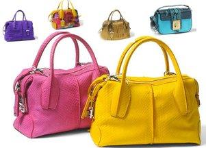 Tod's - kolekcja torebek na wiosnę 2012