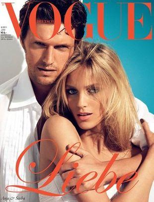 Trzy miłosne okładki magazynu Vogue (FOTO)