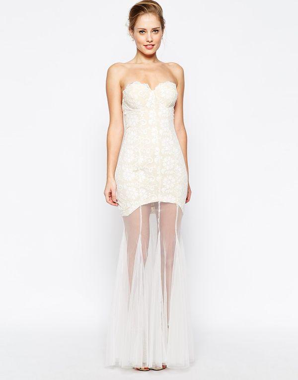 Studniówka last minute - przegląd sukienek maxi Asos (FOTO)