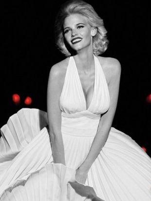 Lara Stone jako Marilyn Monroe (FOTO)