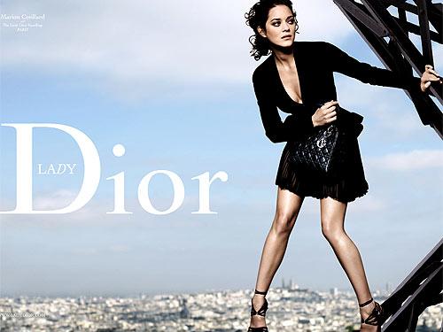 Marion Cotillard została twarzą Diora