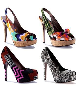 Kolekcja butów Missoni wiosna/lato 2011