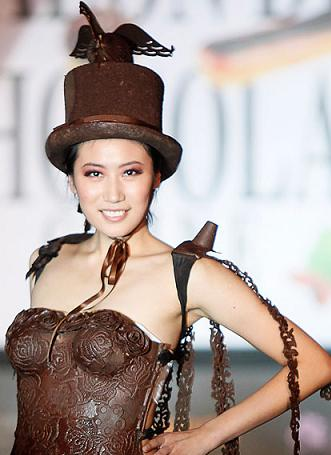 chocolate fashion show china