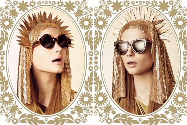 Karen Walker i jej złota kolekcja okularów
