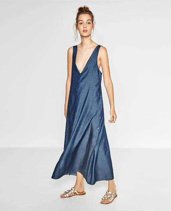 Wyprzedaż Zara - 10 modnych sukienek maksi lato 2016