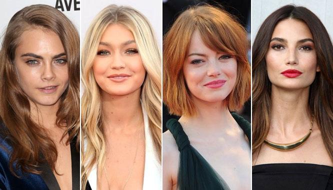 Najmodniejsze kolory włosów na zimę 2015 wg Harper's Baazar