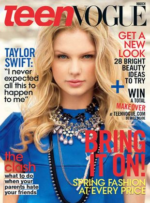 Taylor Swift na okładce Teen Vogue