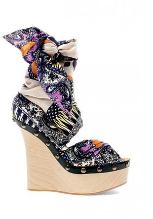 Wiosenne buty od Etro
