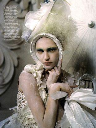 Sasha Pivovarova - porcelanowa piękność
