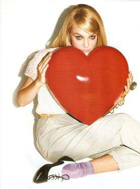 Jessica Stam w kampanii ALDO