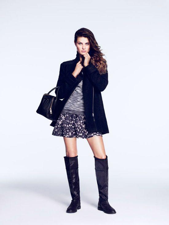 Isabeli Fontana w kampanii H&M jesień-zima 2014