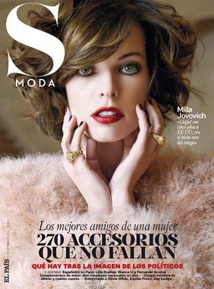 Milla Jovovich w magazynie S Moda
