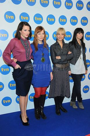 Gwiazdy Tvn prezentują wiosenną ramówkę - przegląd stylów