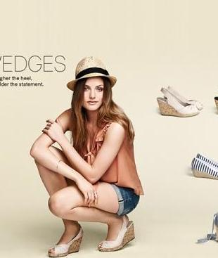 Wiosenne buty od H&M - katalog