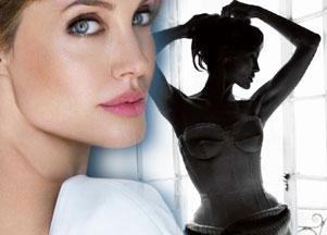 Angelina Jolie w grudniowym Vogue