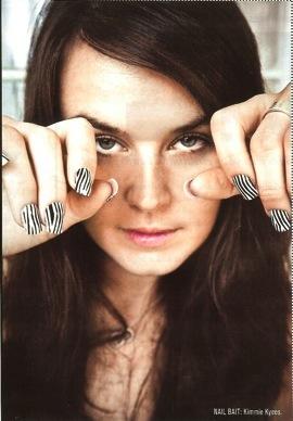 Ciekawy manicure Rihanny