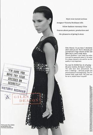 Victoria Beckham dla Love Magazine